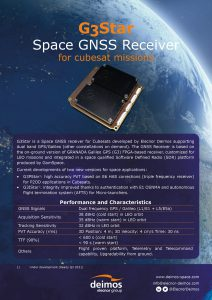 G3Star Space GNSS Receiver